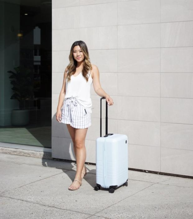 Packing for a short getaway Monos travel Andrea ng